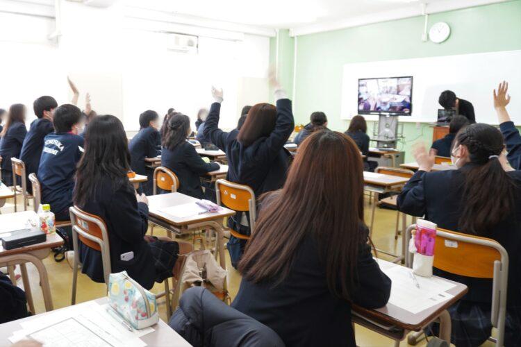 神奈川県立横須賀南高等学校で、オンライン職業講話を開催しました!【クラファン支援第2弾】